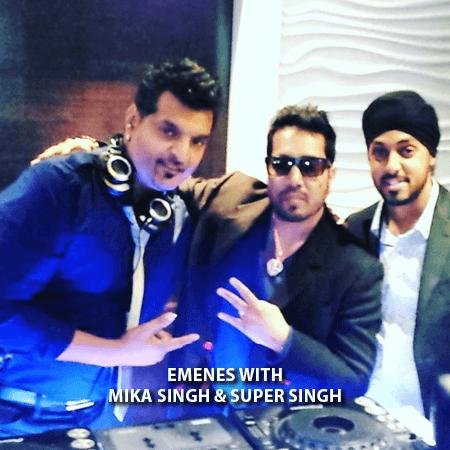 029 - Emenes With Mika Singh