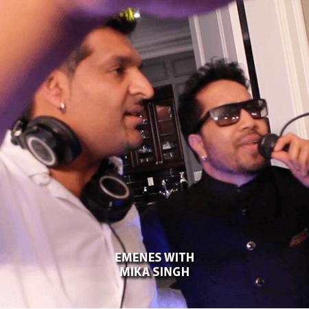 035 - Emenes With Mika Singh 4