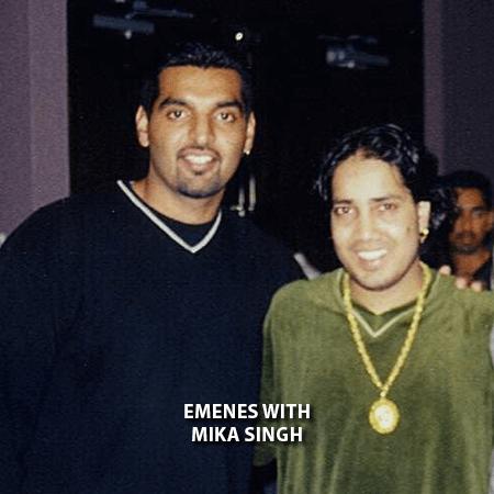 051 - Emenes With Mika Singh 5