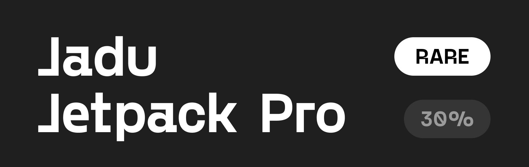Jadu_NFT_Jetpack_Pro