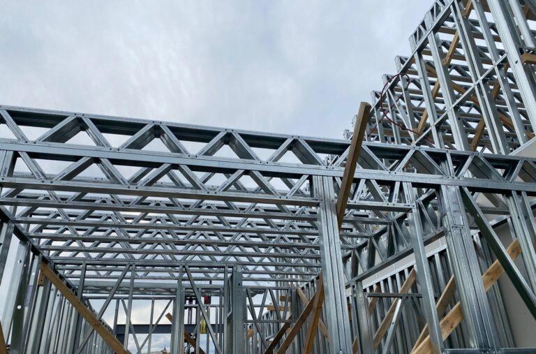 Rhodes Framing Solutions home page light gauge steel framing building