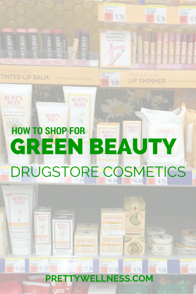 How to Shop for Green Beauty Drugstore Cosmetics