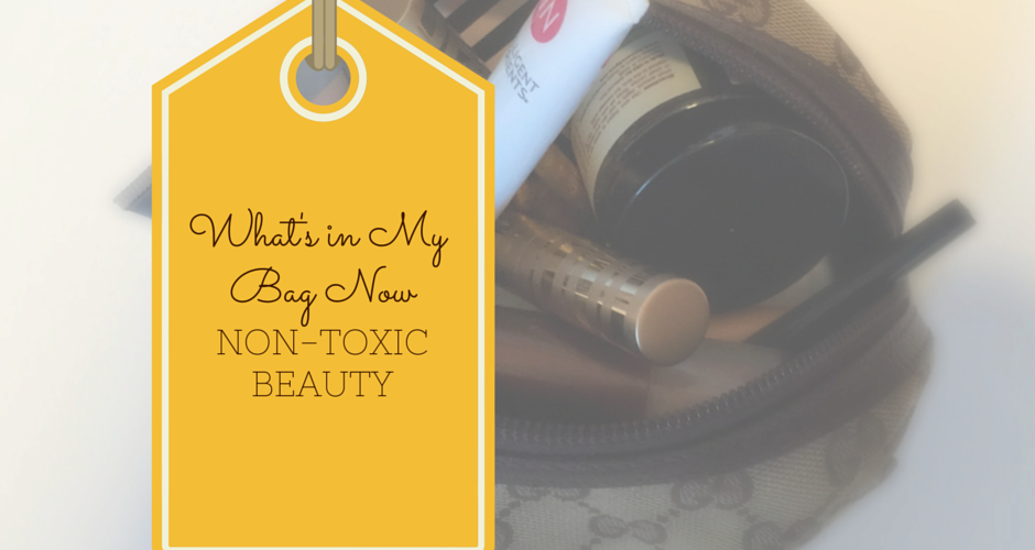 Five Non-Toxic Green Beauty Products for Spring