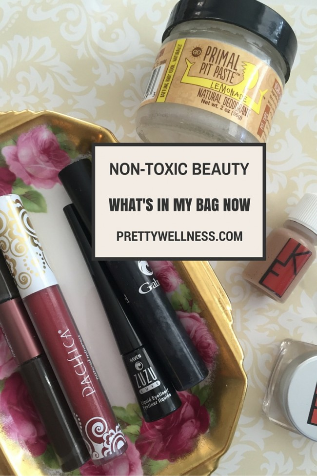 Non-Toxic Green Beauty Items for Fall