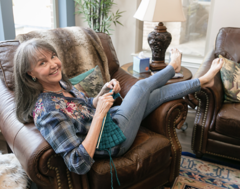 Ep. 30:  A Love Story – Managing Menopause and Caregiving Cancer Together