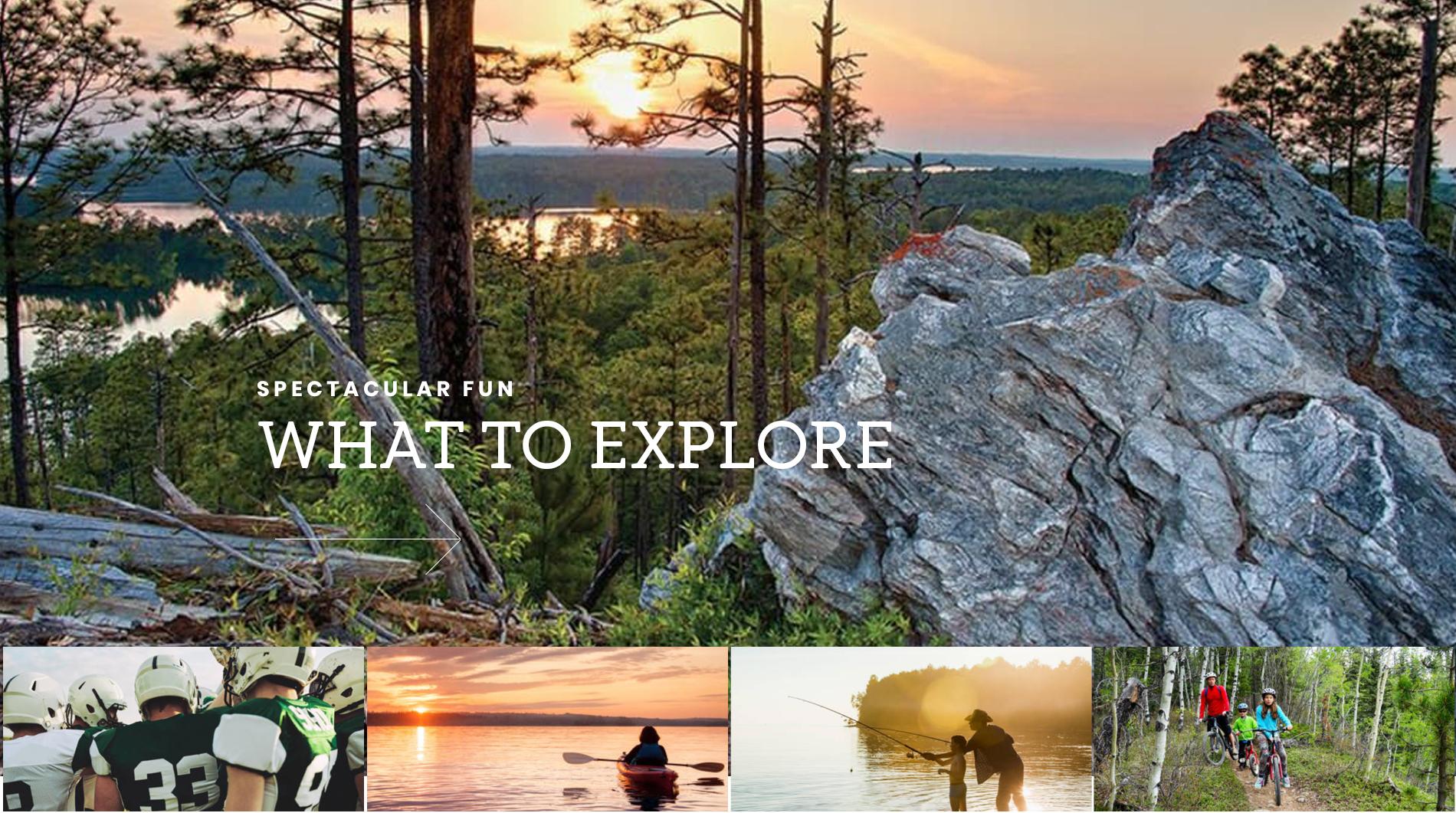 Where to Explore