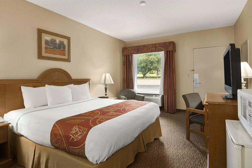 inside of hotel room