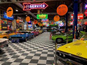 cars at wellborn museum