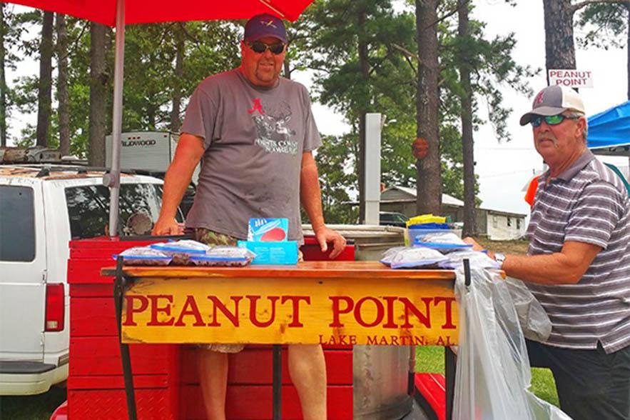 peanut point