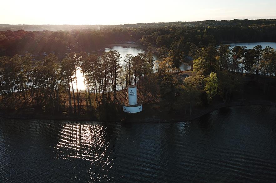 wind creek silo