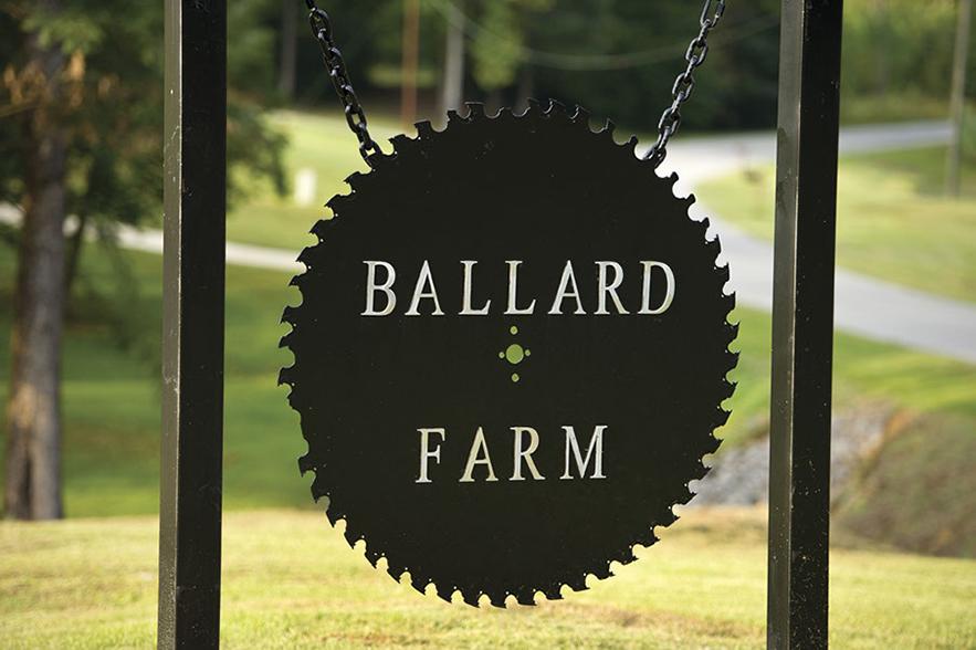 ballard farms sign