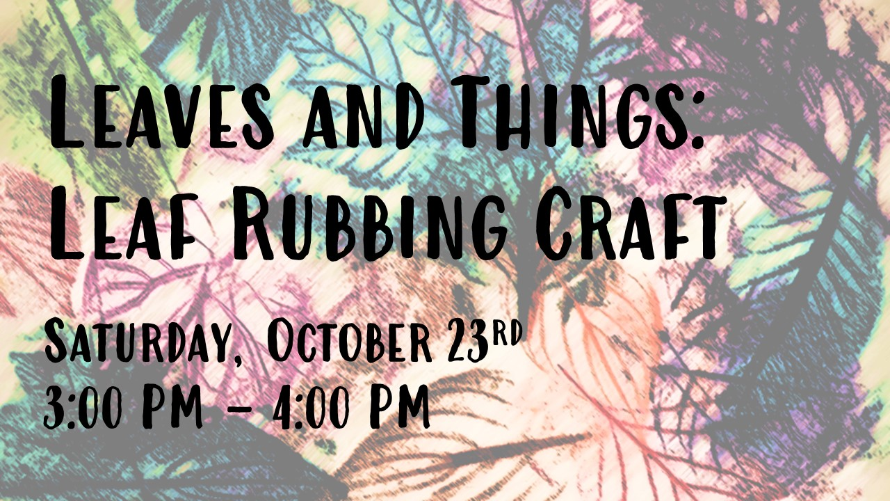 flyer for craft event
