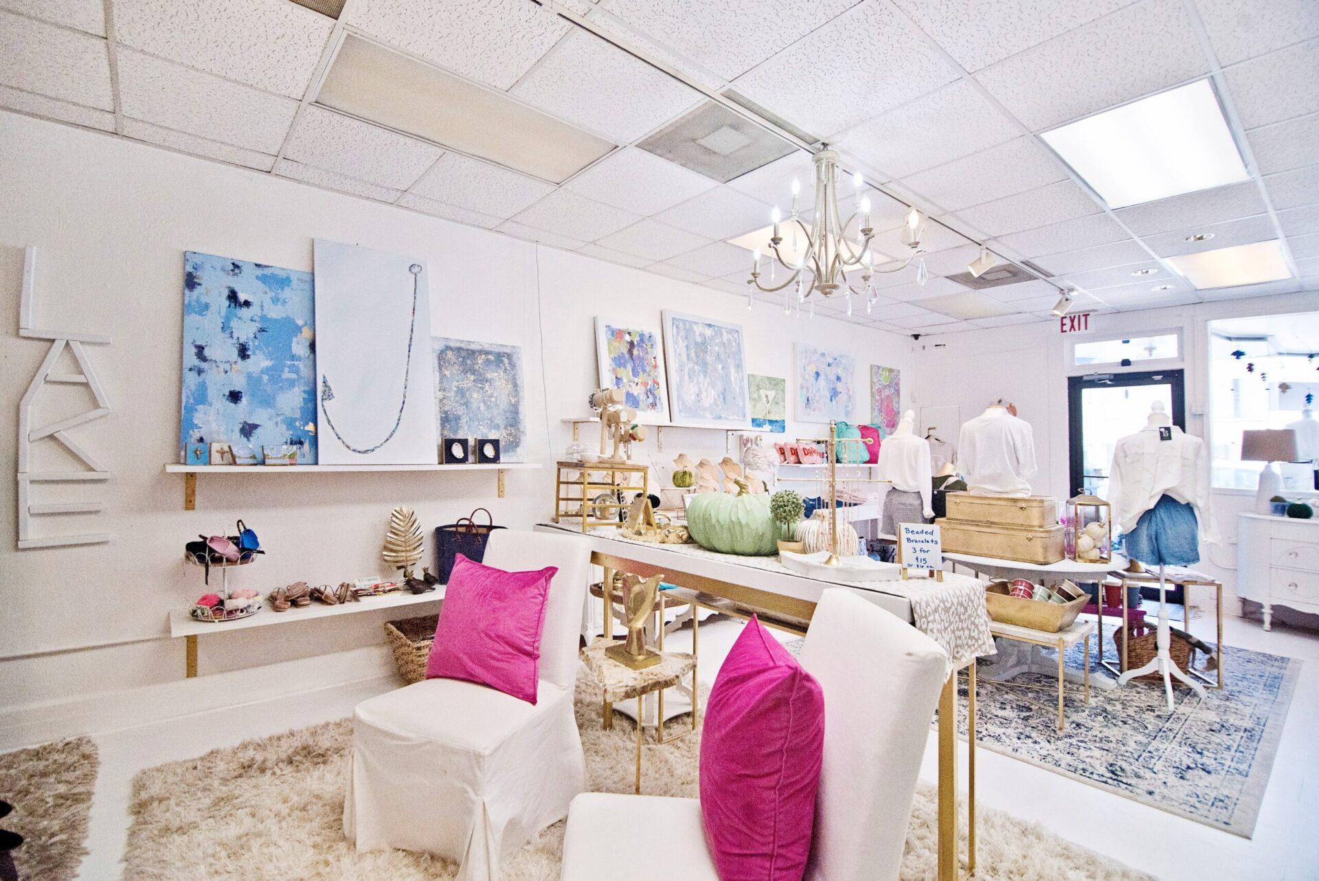 Inside of the boutique-Alli Bleu