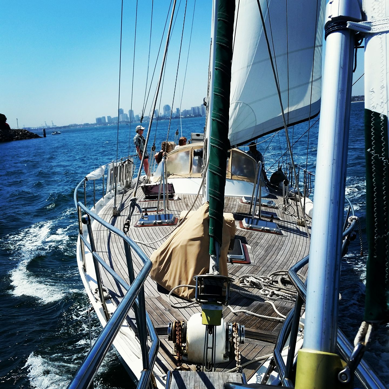 chef paul - sailing shot