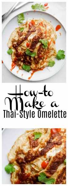 Maybe you love omelettes, but have you ever tried a Thai-Style omelette? Now you can finally eat and create the best omelette in the world!! | thai-foodie.com
