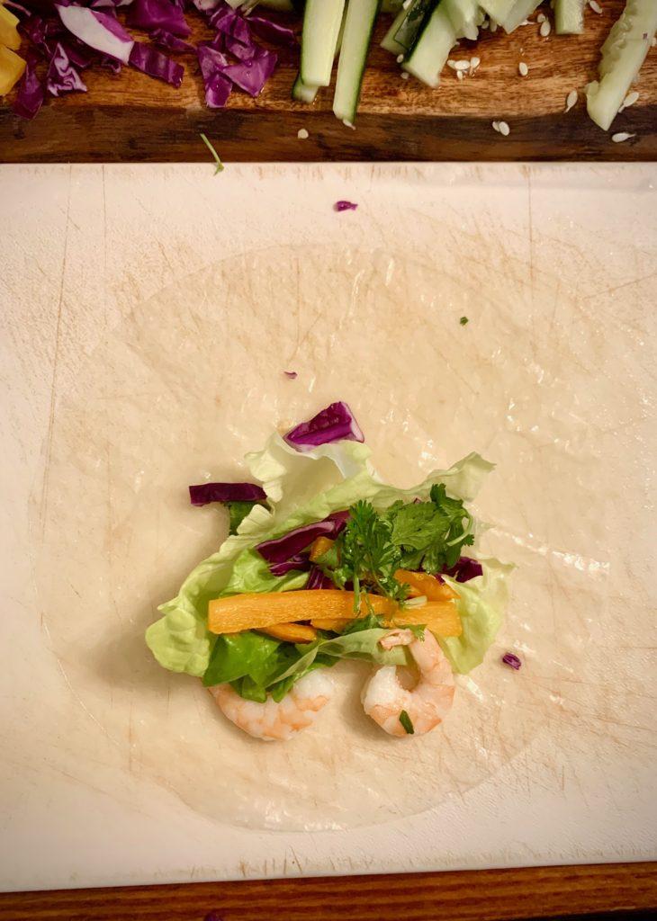 Thai Fresh Spring Rolls   Thai-foodie.com
