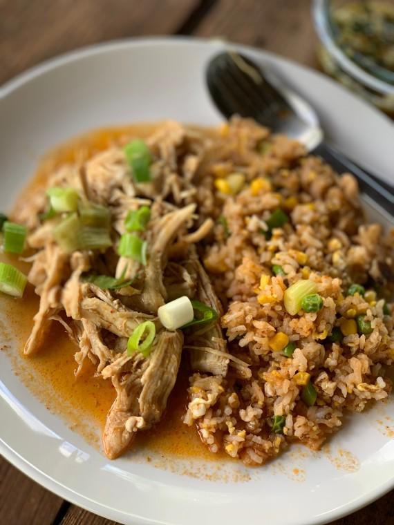 Instant Pot Thai Chicken Curry | thai-foode.com
