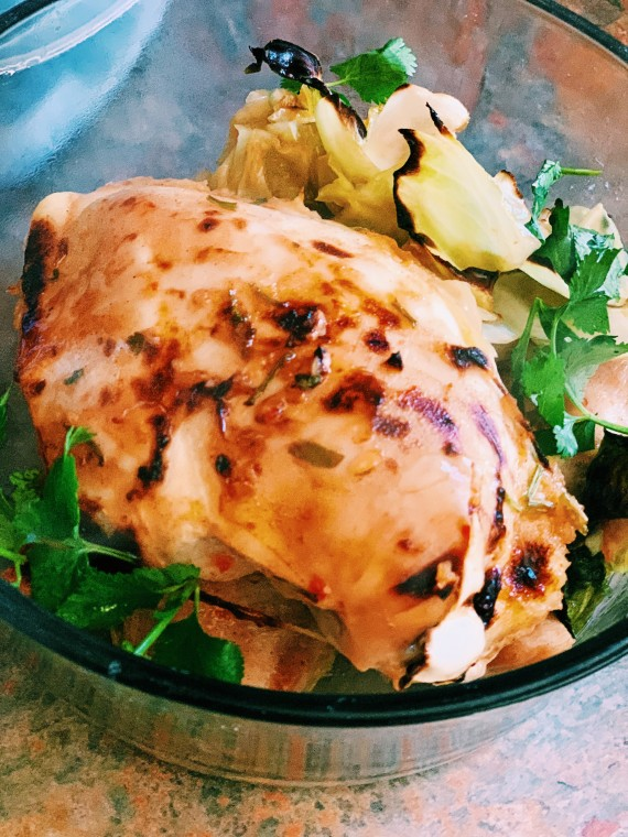 Thai Sweet and Spicy Baked Chicken Recipe | Thai-foodie.com