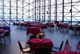 Pavilion Reception with a Patriotic Theme