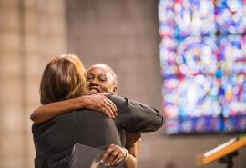 Riverside Church Hug