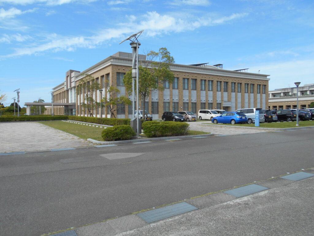 兵庫県広域防災センターの建物