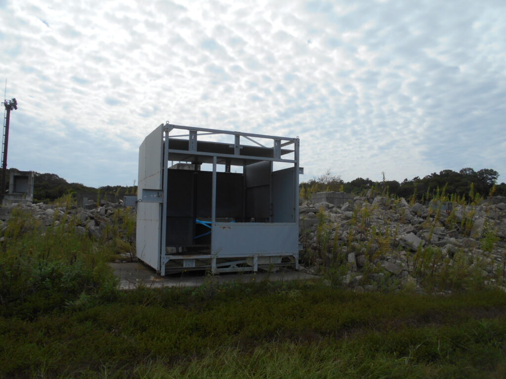 ガレキ救助訓練施設
