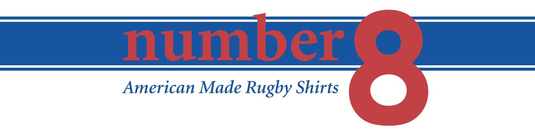 number 8 rugby shirts