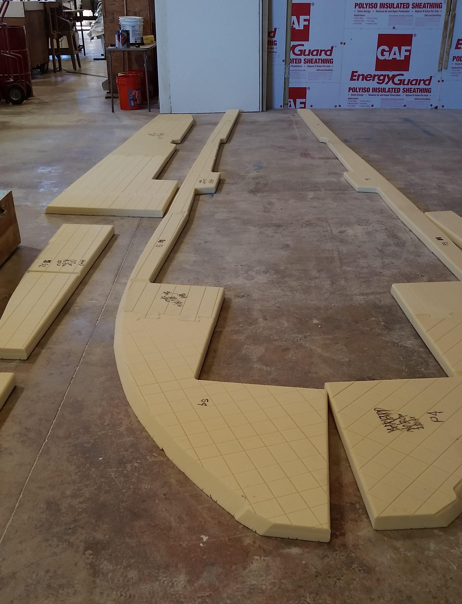 CNC Cut Kit Stringers