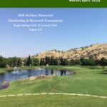 March April 2020  Issue of Tee Off Newsletter