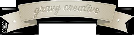 Gravy Creative, LLC - Website, print and branding design