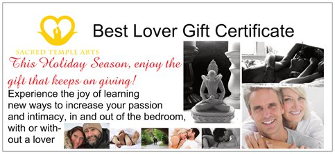 Holiday Gift Certificates On Sale-Now To Valentines Day!