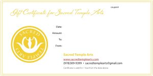 Gift Certificate new
