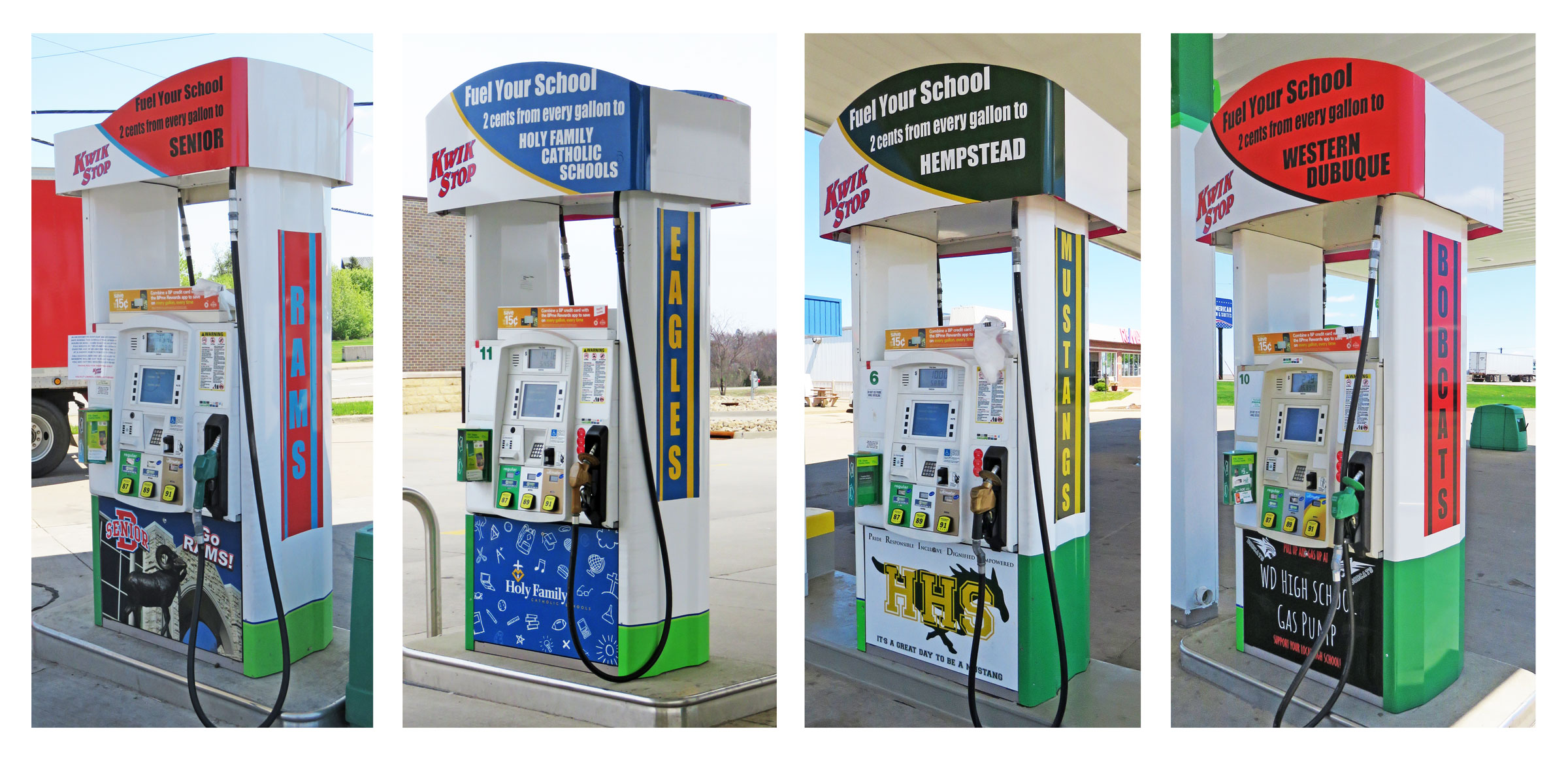 Fuel 4 Schools Gas Pumps