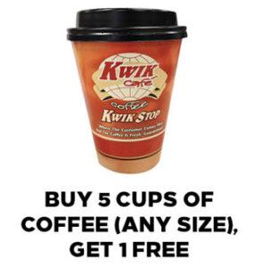 Coffee Club Offer in Rewards Program