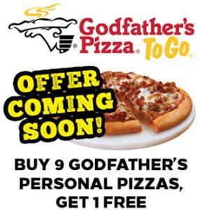 Godfathers Pizza Offer