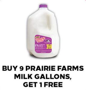 Prairie Farms Milk Offer