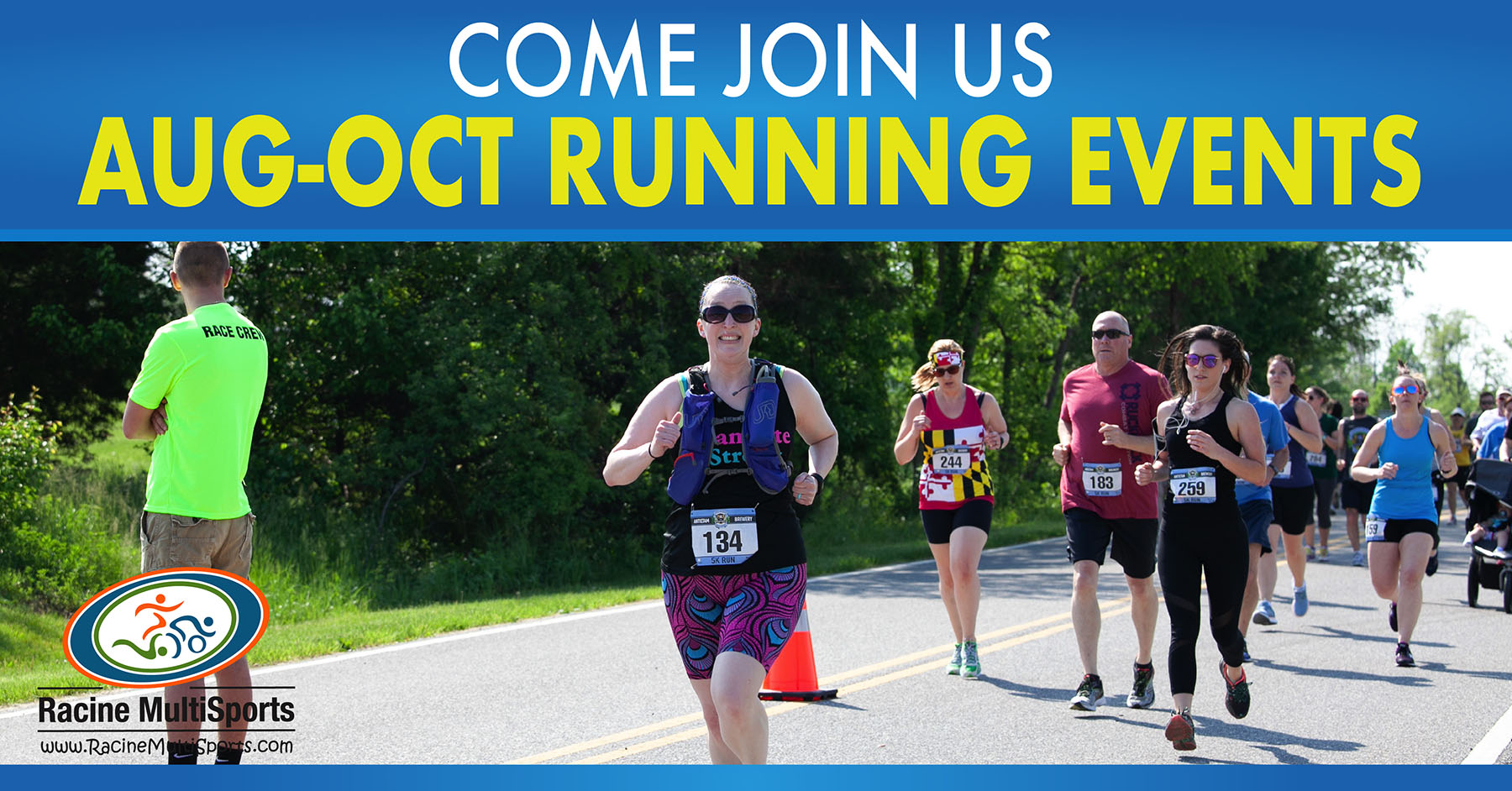 August-October 2019 Running Events