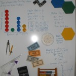 Solving Maths Problems on White-board