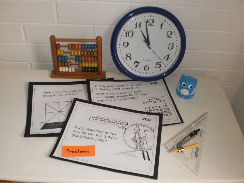 Maths Tools and Problems