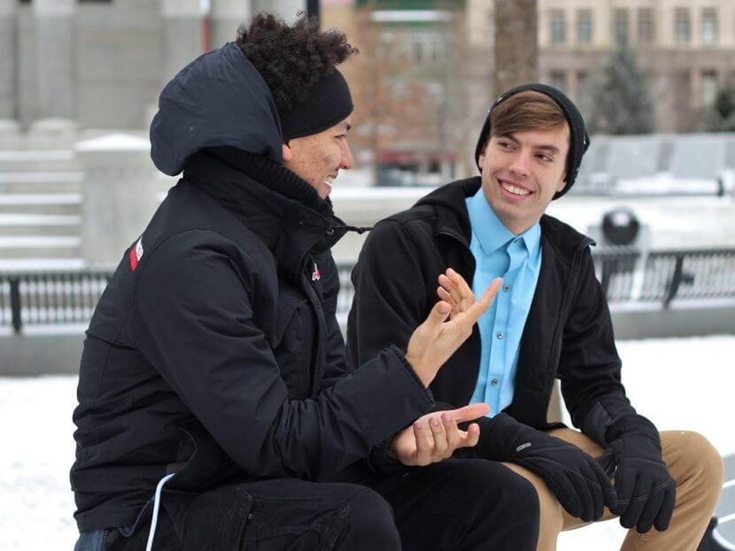 Conversation builds relationships.