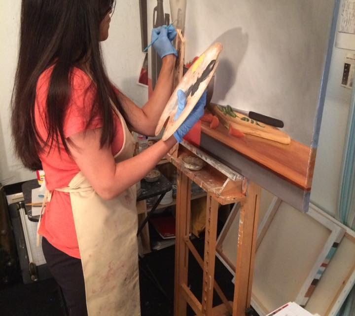 First Still Life Painting