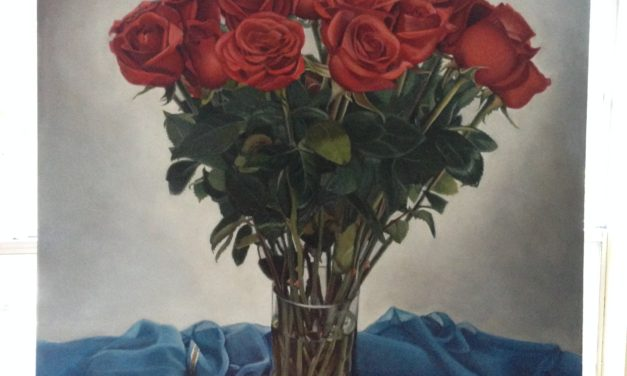 'British Rose' accepted into Juried Exhibition