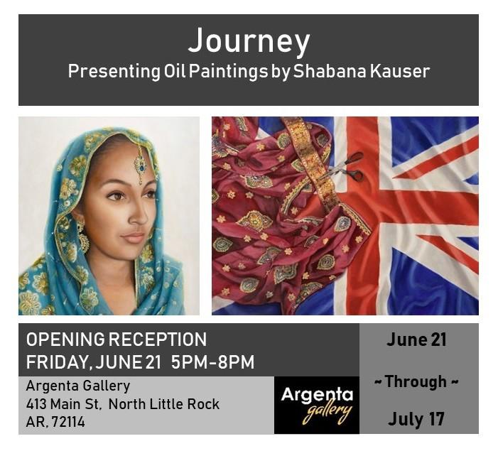 'Journey' Solo Exhibit
