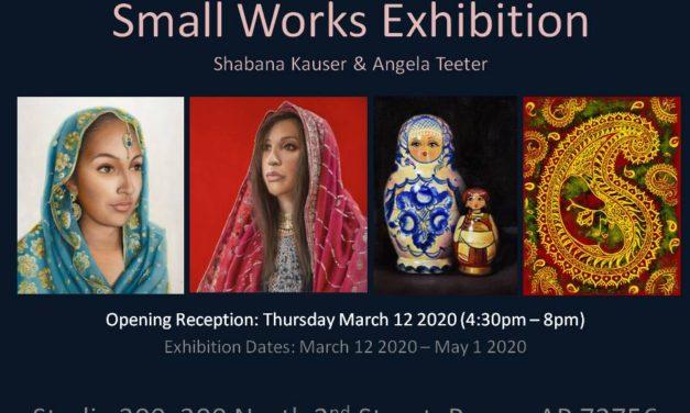 Small works exhibit 2020