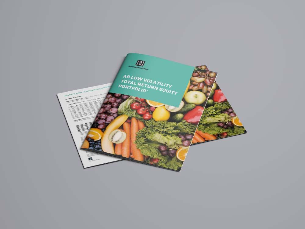 Brochure design for AB