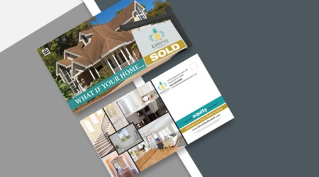 Mailer, Print, Design, Creative, Real Estate, Graphic Design