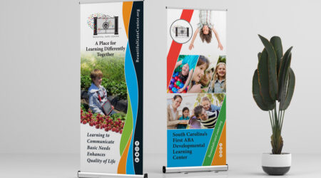 Print, Design, Creative, Kid, Children, colorful, standee, drop, Beautiful Gate Center, center, school