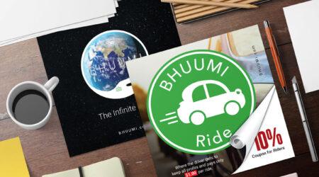 Creative, Bhuumi, Design, Bhuumi Ride, ad, advertising, print, creative, discount, color