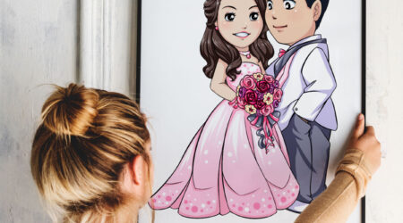 sketch, creative, design, color, painting, draw, drawing, animation, color, book, children, kid, girl, couple, wedding, aniversary