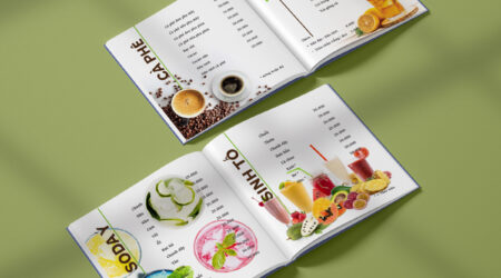 Menu, print, coffee, cafe, drink, brochure, flyer, design, creative, tea
